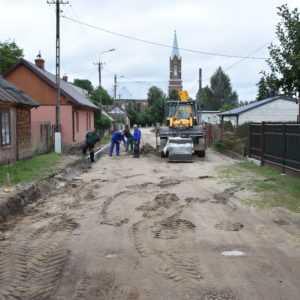 Modernizacja ulicy Zakościelnej w Sochocinie. Wkrótce pojawi się kostka brukowa