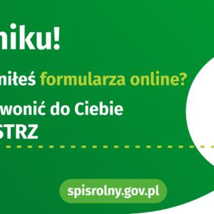 Informacja o Powszechnym Spisie Rolnym PSR 2020