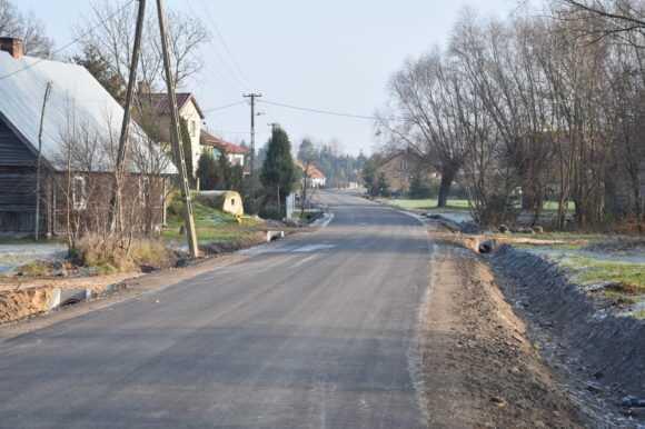 Nowa droga w Milewie. Przebudowana dzięki rządowemu wsparciu