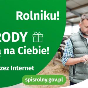 Rolniku, spisz się i daj wygrać sobie, swojej gminie i polskiemu rolnictwu!
