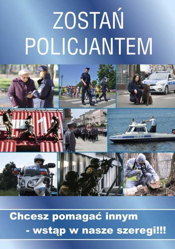 Zostań policjantem! Nowe przyjęcia