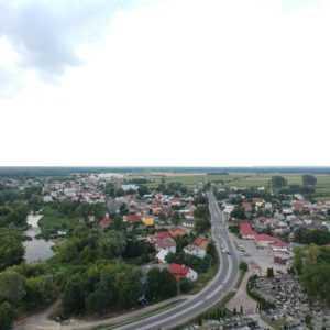 Podziękowania burmistrza Jerzego Ryzińskiego za wsparcie przy odzyskaniu praw miejskich przez miejscowość Sochocin