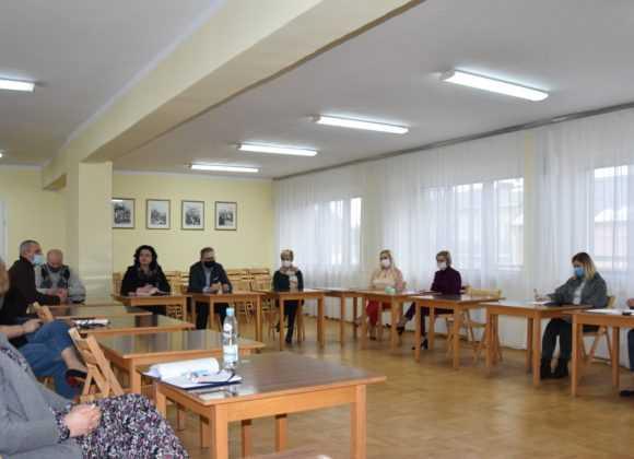 Spotkanie sztabu zarządzenia kryzysowego w Sochocinie