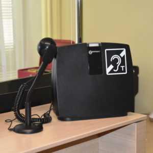 Ułatwienia dla niedosłyszących w Urzędzie Miasta i Gminy Sochocin