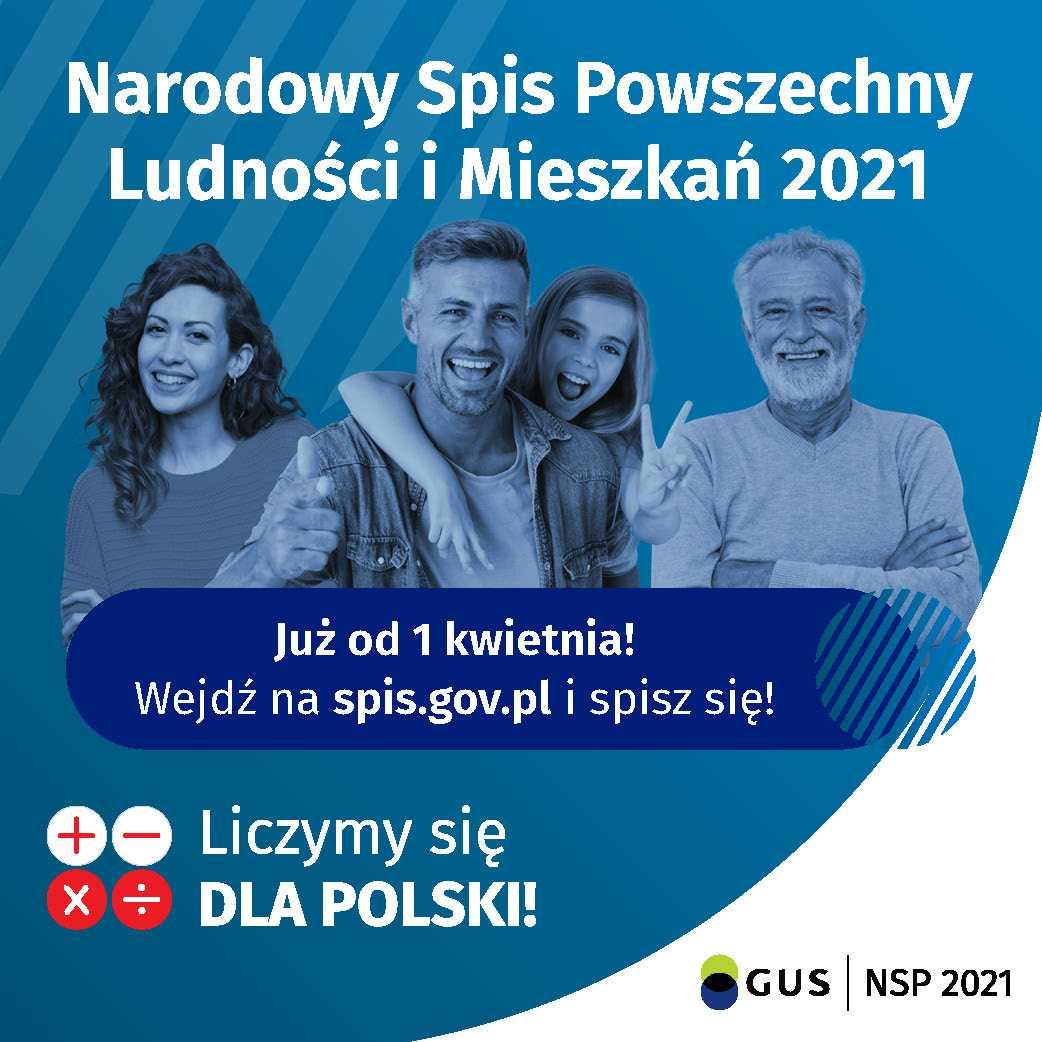 Policzmy się dla Polski! Rozpoczyna się Narodowy Spis Powszechny 2021