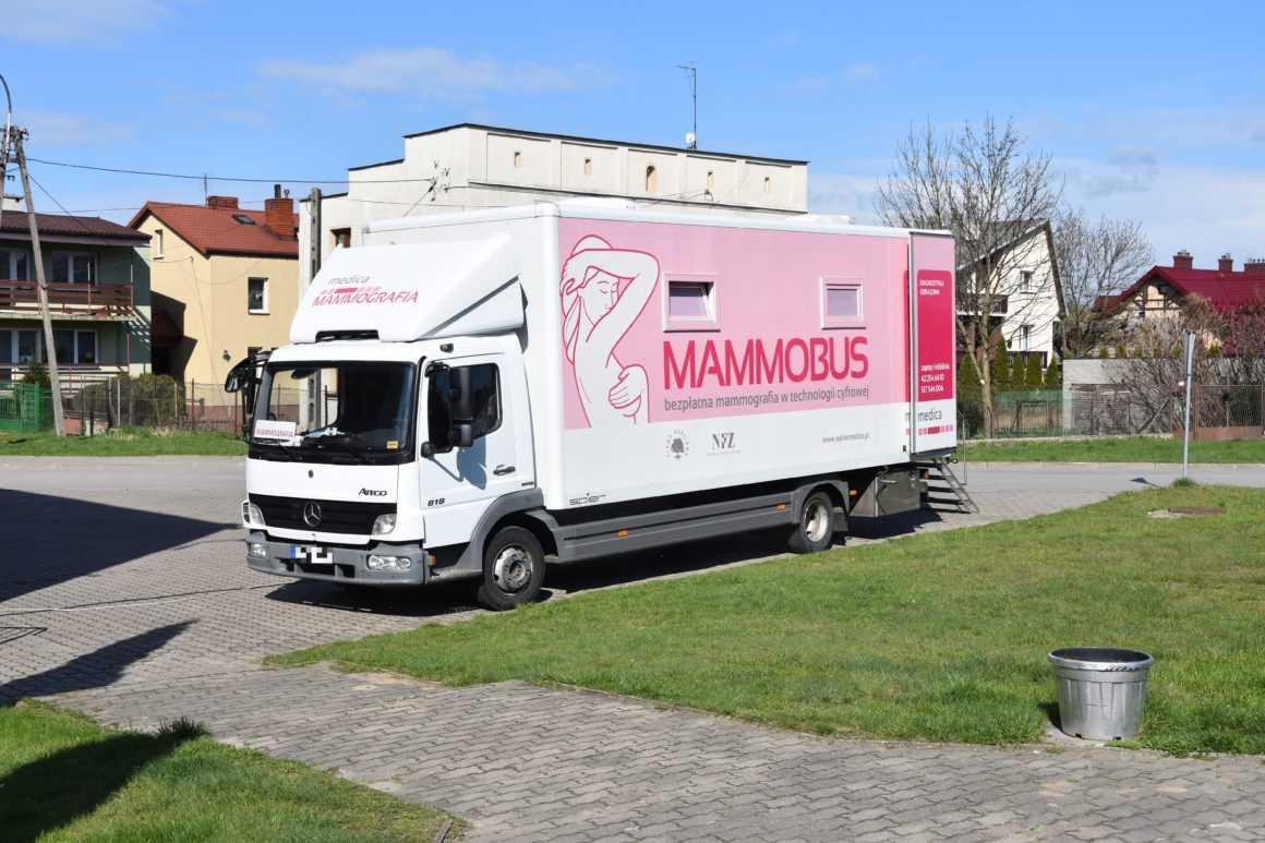 Badania mammograficzne w Sochocinie. Przebadano 62 kobiety