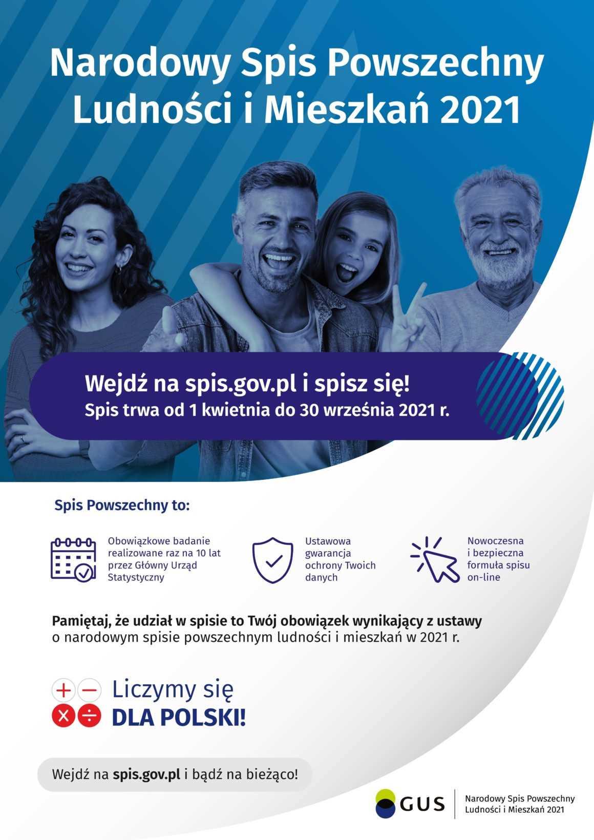 Narodowy Spis Powszechny 2021 – list do mieszkańców miasta i gminy Sochocin